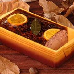 Onno, Duo de canard: Terrine canard + medaillon mousse pur canard, au rayon traditionnel, a la coupe