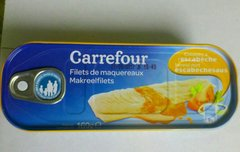 Filets de maquereaux sauce escabèche
