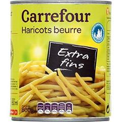 Haricots beurre, extra-fins