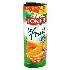 Joker le fruit orange banane carotte 1l