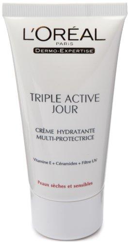 triple active jour creme hydratante peau seche et sensible tous les produits soins visage. Black Bedroom Furniture Sets. Home Design Ideas