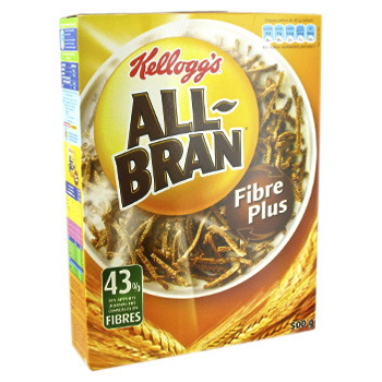 Cereales au son de ble riche en fibres, All-Bran