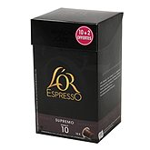 Capsules de café Supremo intensité 10