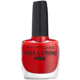 Gemey Maybelline tenue & strong rouge forever red 505