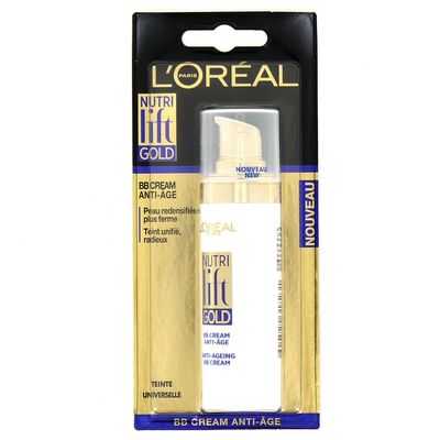 L'Oreal Paris Fond de Teint Nutri Lift Gold BB Cream Teinte Universelle
