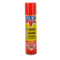 Insecticide anti cafards, fourmis et araignees CATCH, 400ml
