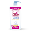 Bébé Cadum thermal gel corps cheveux hydratant 2x750ml
