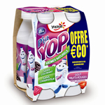 PTIT YOP AROMATISE FRUITS ROUGES 180Gx4