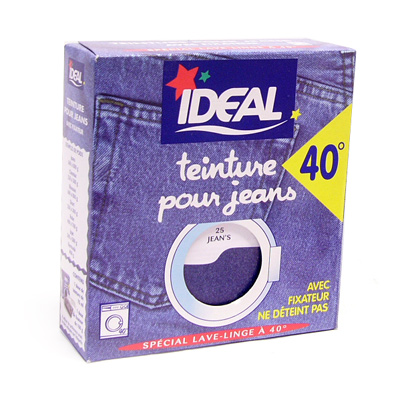 Id al teinture textile tout en un rouge la boite de 350 g tous les produi - Teinture ideal tout en un ...