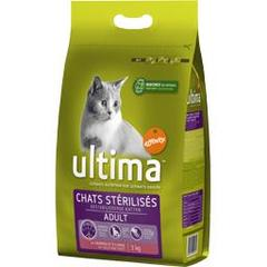 Ultima chat sterilise au saumon 3kg