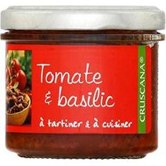 Tomate & basilic a tartiner & a cuisiner