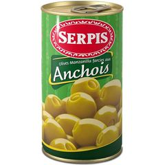 Olives Manzanilla farce d'anchois Serpis