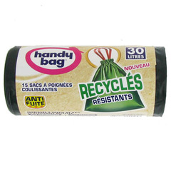 Handy Bag Recycle Sac poubelle recycle 30 l x 15