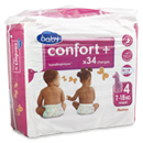 Auchan baby confort + single maxi change 7/18kg x34 taille 4