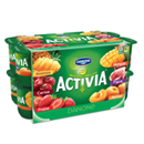Activia bifidus assortiment de yaourts aux fruits 16x125g