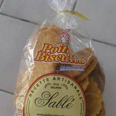 Biscuits sables POITOU BISCUITS, 300g