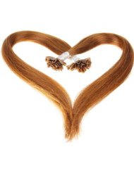 Just Beautiful Hair and Cosmetics Extensions en cheveux naturels Remy 1 G avec kératine