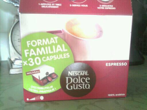 caf capsules espresso dolce gusto tous les produits caf s en dosettes prixing. Black Bedroom Furniture Sets. Home Design Ideas