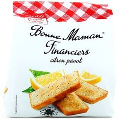 Financiers citron pavot