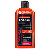Shampooing Syoss Color protect 2x500ml 50% sur le 2eme