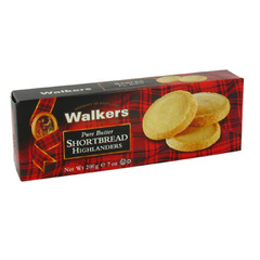 Sables ecossais Highlander Shortbread WALKERS, 200g