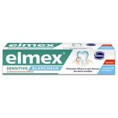Dentifrice sensitive blancheur ELMEX, tube de 75ml