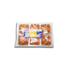Carres fourres x6, le paquet,280g