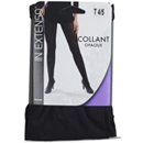 In Extenso collant opaque microfibre noir 80D taille 4/5
