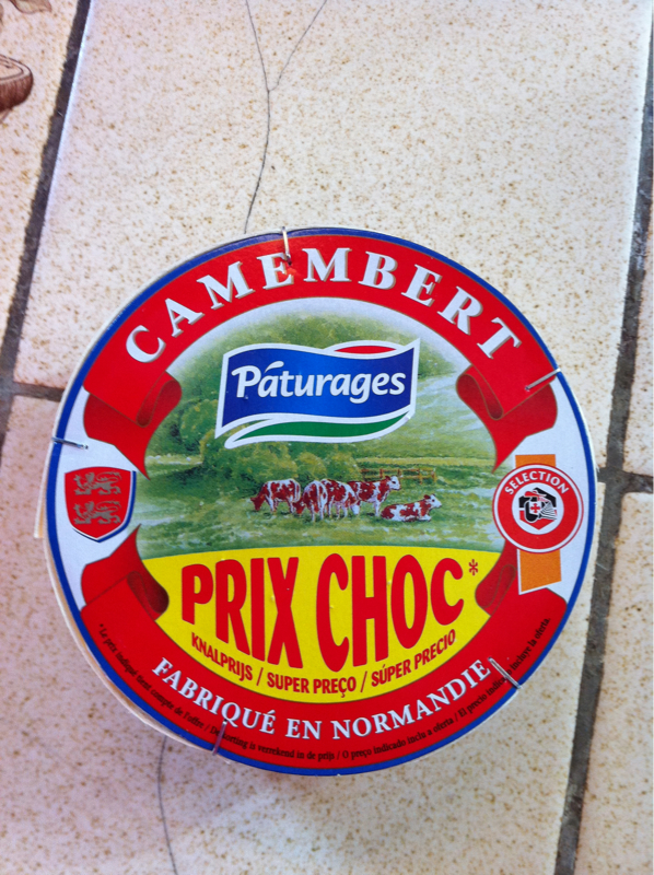 Pâturages Camembert le fromage de 250 g