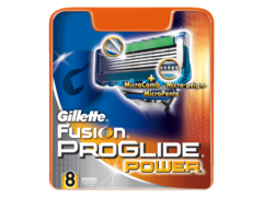 Gillette lames Fusion Proglide power x8