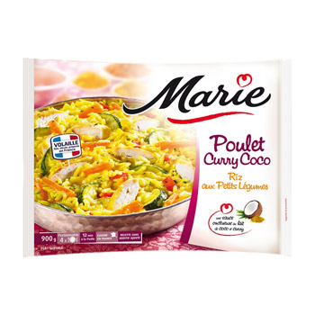 Marie poulet curry coco 900 g