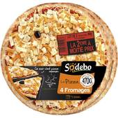 Sodébo Lot 2 la pizza 4 fromages 470g