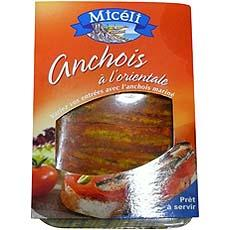 Filet d'anchois a l'Orientale MICELI, 100g