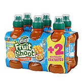 Teisseire fruit shoot tropical 4 bouteilles