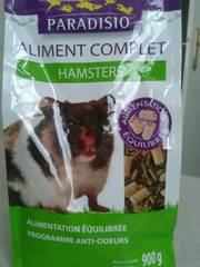 Paradisio : Aliment Complet Hamster:900g