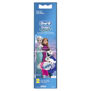 ORAL B elec Stages Power Pack de 2 Brossettes de Rechange Motif Reine des Neiges