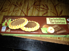 Biscuits chocolat noisette Carrefour