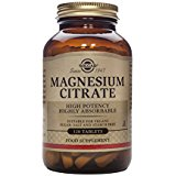 Solgar - MAGNESIUM CITRATE - 120 tablettes