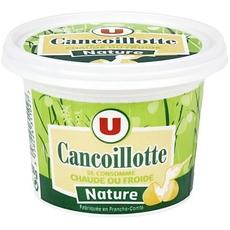Cancoillotte nature au lait thermise U, 4%MG, 250g