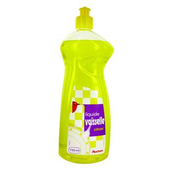 auchan liquide vaisselle citron 750ml tous les produits liquides vaisselle prixing. Black Bedroom Furniture Sets. Home Design Ideas