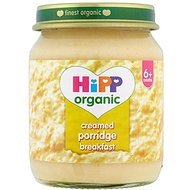 HiPP Organic Stage 1 From 6 + Months Creamed Porridge Breakfast 6 x 125 g (Pack of 2, Total 12 Pots)