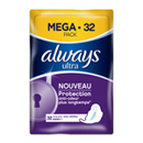 Always ultra ling plus mega serviette x32
