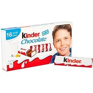 Kinder Chocolat 16 Mini Friandises 200G - Paquet de 2