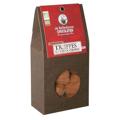 Truffes caramel alcool de poire de belledonne chocolatier for Alcool de poire maison