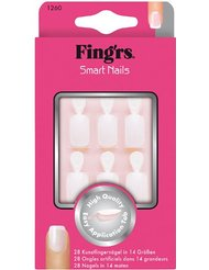 Fing'rs - 1260X4 - Faux Ongles - 28 Ongles Smart Nails Naturels à Coller