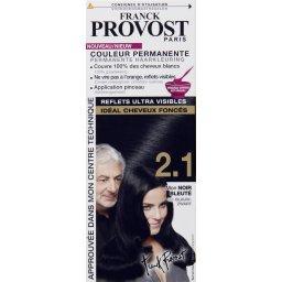 coloration permanente pour cheveux fonces franck provost noir bleute n21 - Coloration Noir Bleut