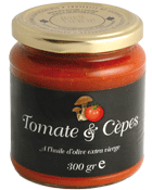 Sauce Tomate & Cepes - Agriculture Biologique