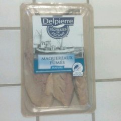 Filets de maqueraux Delpierre Fumé nature 150g