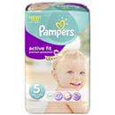Pampers active fit 11/25kg mid pack juniorx23 taille5