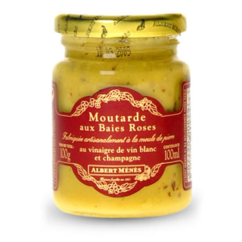 Moutarde aux baies roses ALBERT MENES, 100g